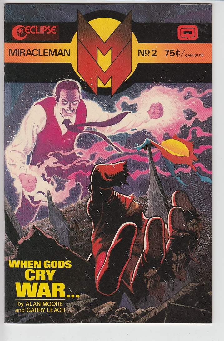 Miracleman on Bagged Eclipse